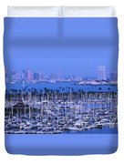 San Diego Twilight Duvet Cover