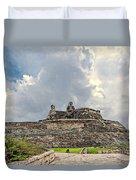 San Felipe Fort Duvet Cover