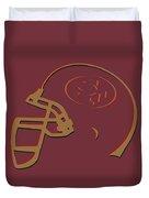 San Francisco 49ers Helmet1 Duvet Cover