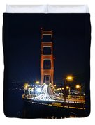 San Francisco - Golden Gate Bridge From North Vista Point Duvet Cover