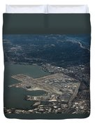 San Francisco International Airport Duvet Cover
