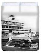 San Francisco International Airport Passenger Terminal Circa 195 Duvet Cover