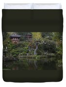 San Francisco Japanese Garden Duvet Cover