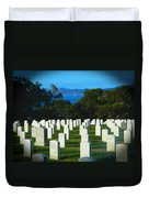 San Francisco National Cemetery In El Presidio Duvet Cover