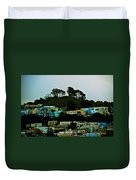 San Francisco Neighborhood Duvet Cover