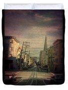 San Francisco Street Duvet Cover