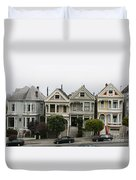 San Francisco - The Painted Ladies Duvet Cover