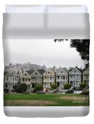 San Francisco - The Painted Ladies I Duvet Cover