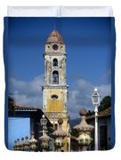 San Francisco Tower Trinidad Duvet Cover