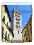 San Frediano Tower Duvet Cover