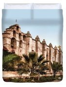 San Gabriel Mission 1899 Duvet Cover by Unknown
