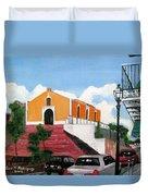 San German Chapel Duvet Cover