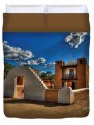 San Geronimo Church Taos Pueblo Duvet Cover
