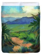 San Jacinto Visitors Center Duvet Cover