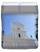 San Juan Bautista Duvet Cover