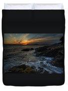 San Juans Sunset Mood Duvet Cover