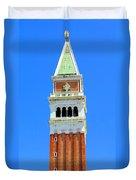 San Marco Campanile Duvet Cover