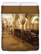 San Michele Chapel Duvet Cover