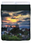 San Miguel De Allende Sunset Duvet Cover