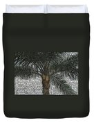 San Palm  Duvet Cover