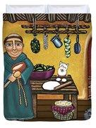 San Pascuals Kitchen Duvet Cover