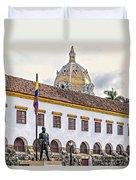 San Pedro Claver Monastery Duvet Cover