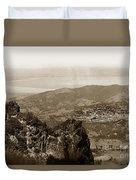 San Rafael From Mount Tamalpais California Circa 1905 Photo By Putnam- Valentine Duvet Cover