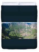 San Salvador Volcano Duvet Cover