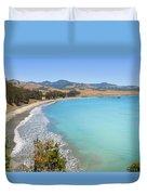 San Simeon Bay Duvet Cover