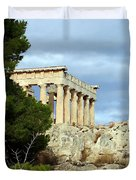 Sanctuary Of Aphaia 2 Duvet Cover