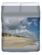 Sand And Sea Duvet Cover