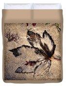 Sand Art Duvet Cover