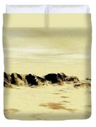 Sand Desert Duvet Cover