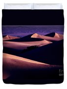 Sand Dunes At Sunrise Duvet Cover