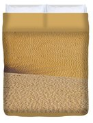 Sand Layers Duvet Cover