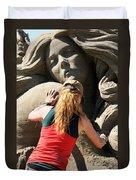 Sand Sculptor Duvet Cover