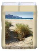 Sand Sea Mountains - Crete Duvet Cover