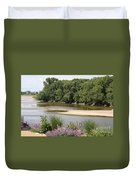 Sandbanks In The River Duvet Cover