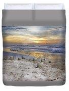 Sandcastle Sunrise Duvet Cover