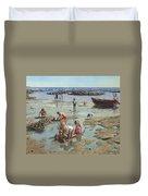 Sandcastles Duvet Cover