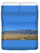 Sandia Mountains Duvet Cover
