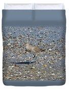 Sandpiper Galveston Is Beach Tx Duvet Cover