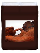 Sandstone Arch Valley Of Fire Duvet Cover