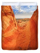 Sandstone Bowl Duvet Cover by Inge Johnsson