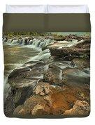 Sandstone Falls Duvet Cover