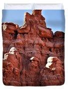 Sandstone Goblin Valley Duvet Cover