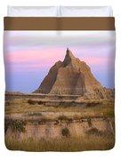 Sandstone Grassland Badlands South Duvet Cover