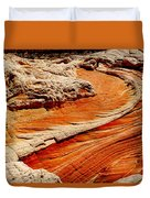 Sandstone Highway Duvet Cover
