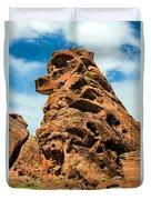 Sandstone Husky Duvet Cover