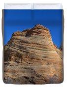 Sandstone Rock Formation Zion National Park Utah Duvet Cover